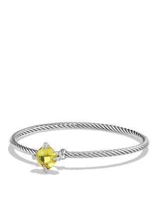 Châtelaine Bracelet with Hampton Blue Topaz and Diamonds