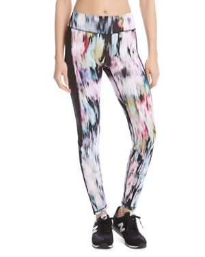 Karen Kane Active Abstract Print Leggings