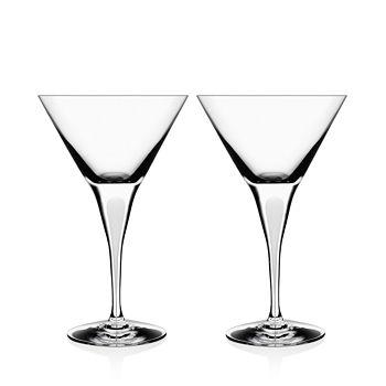 Orrefors - Intermezzo Satin Martini Glass