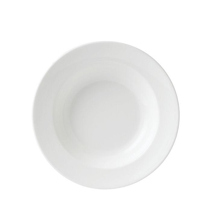 Wedgwood - White Rim Soup Bowl