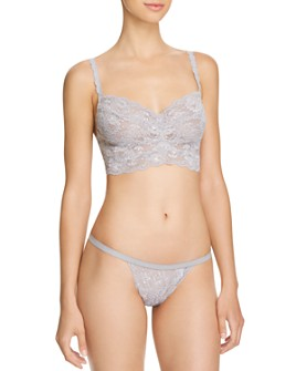 Cosabella - Never Say Never Sweetie Soft Bralette & G-String