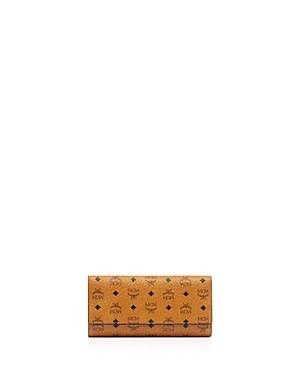 Mcm Visetos Large Trifold Wallet