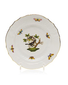 Herend - Rothschild Bird Bread & Butter Plate