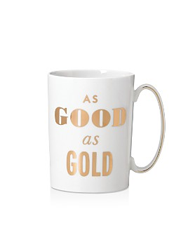kate spade new york - Simply Sparkling Mug, Good As Gold