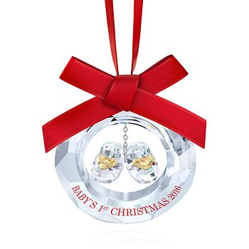 Swarovski - Baby's First Christmas 2016 Ornament