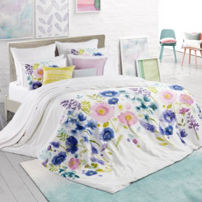 Florrie Floral Print Duvet Cover Set, Full/Queen - 100% Exclusive