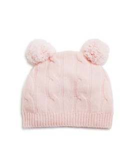Bloomie's - Infant Girls' Cashmere Cable Hat, Baby - 100% Exclusive