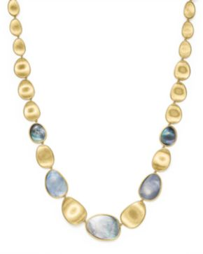 Marco Bicego Lunaria 18k Gold Necklace, 18L