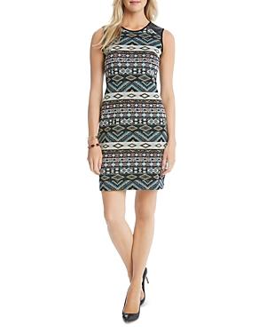 Karen Kane Tribal Print Jacquard Dress