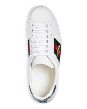eddd17a9905 Lyst Gucci Hitop Laceup Sneaker With Signature Web Detail In Black