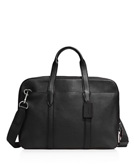 COACH - Metropolitan Brief in Pebbled Leather