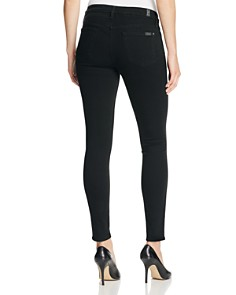 7 For All Mankind - b(air) Skinny Ankle Jeans in Black