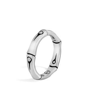 John Hardy Sterling Silver Bamboo Band Ring
