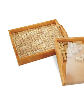 Wine Enthusiast - Cork Serving Tray