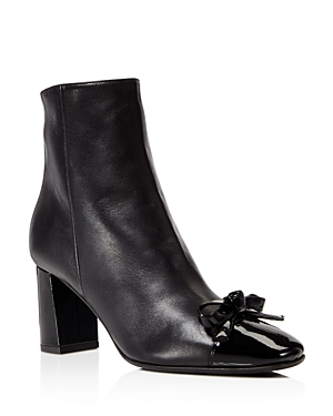 kate spade new york Odelia Cap Toe Block Heel Booties