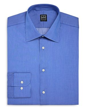 Ike Behar Pinstripe Regular Fit Dress Shirt