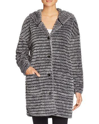 PJ Salvage - Striped Cozy Cardigan Robe