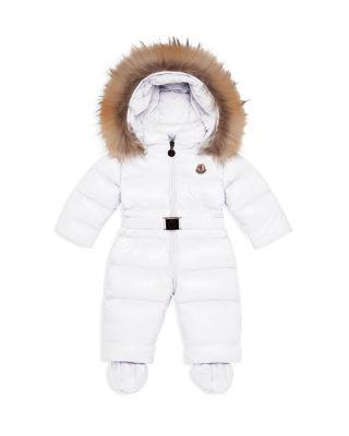 Infant Girl Snowsuit