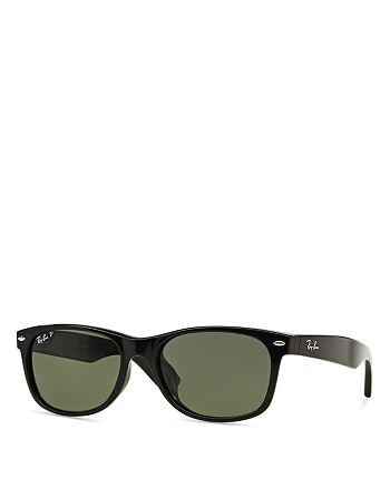 fe0c0fc776bba Ray-Ban Unisex RB2132 Polarized Alternate Fit Wayfarer Sunglasses ...