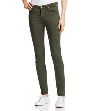 Ag Prima Cigarette Jeans in Sulfer Dark Moss 1768425