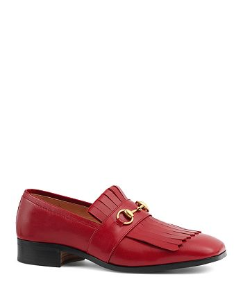 fcb404ad4 Gucci Men's Gran Duca Fringe Bit Loafers | Bloomingdale's