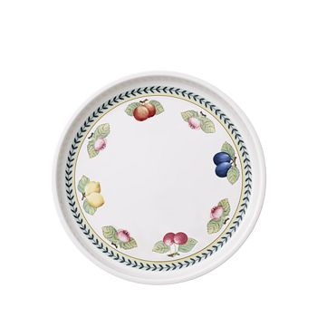 "Villeroy & Boch - French Garden Baking Round 11.75"" Serving Plate/Lid"