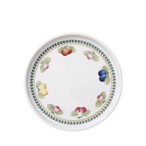 Villeroy & Boch French Garden Baking Round 11.75 Serving Plate/Lid