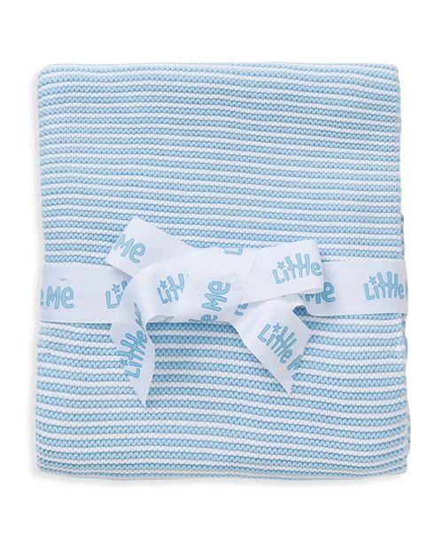 Little Me - Infant Boys' Textured Stripe Blanket