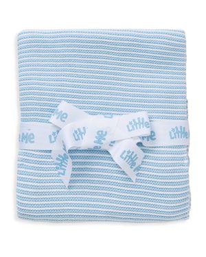 Little Me Infant Boys' Textured Stripe Blanket