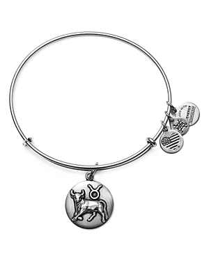 Alex and Ani Taurus Expandable Wire Bangle