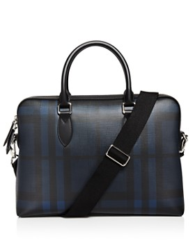 Burberry - The Barrow Check Slim Briefcase