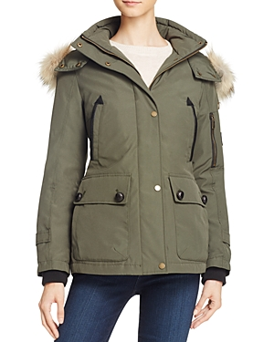 Pendleton Bachelor Fur Trim Down Coat-Women
