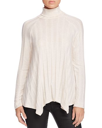 B Collection by Bobeau - Libby Ribbed Mock Neck Sweater