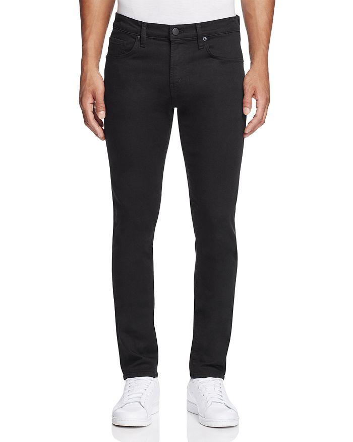 J Brand - Tyler Taper Slim Fit Jeans in Seriously Black