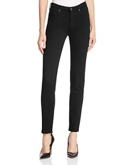 AG - Prima Mid Rise Jeans in Black