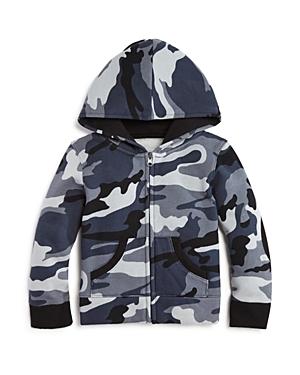 Andy  Evan Boys Fleece Lined Camo Hoodie  Sizes 27
