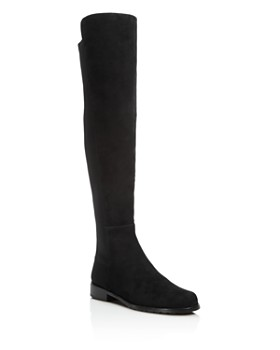 Stuart Weitzman - Women's 5050 Stretch Suede Over-the-Knee Boots