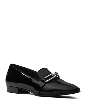 Michael Kors Collection Lennox Spazzolato Leather Loafers