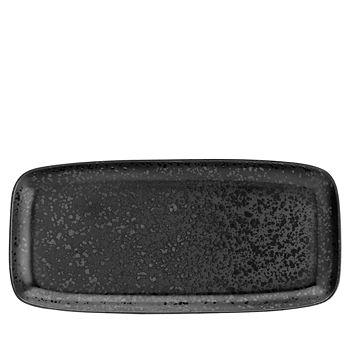 L'Objet - Alchimie Black Large Rectangular Platter