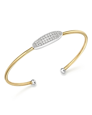 Diamond Flex Bracelet in 14K White and Yellow Gold, .45 ct. t.w. - 100% Exclusive