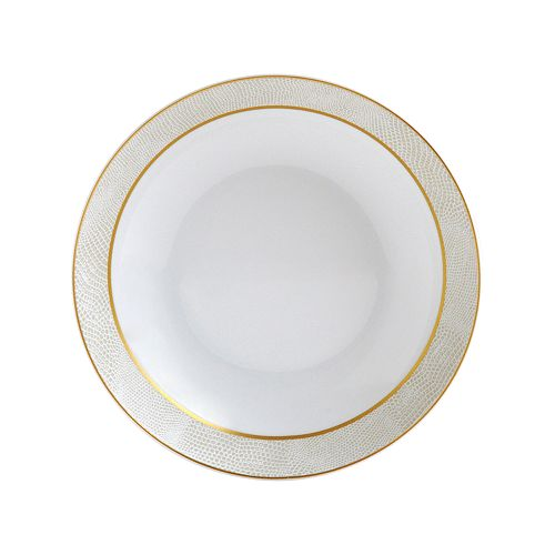 Bernardaud - Sauvage White Coupe Soup Bowl