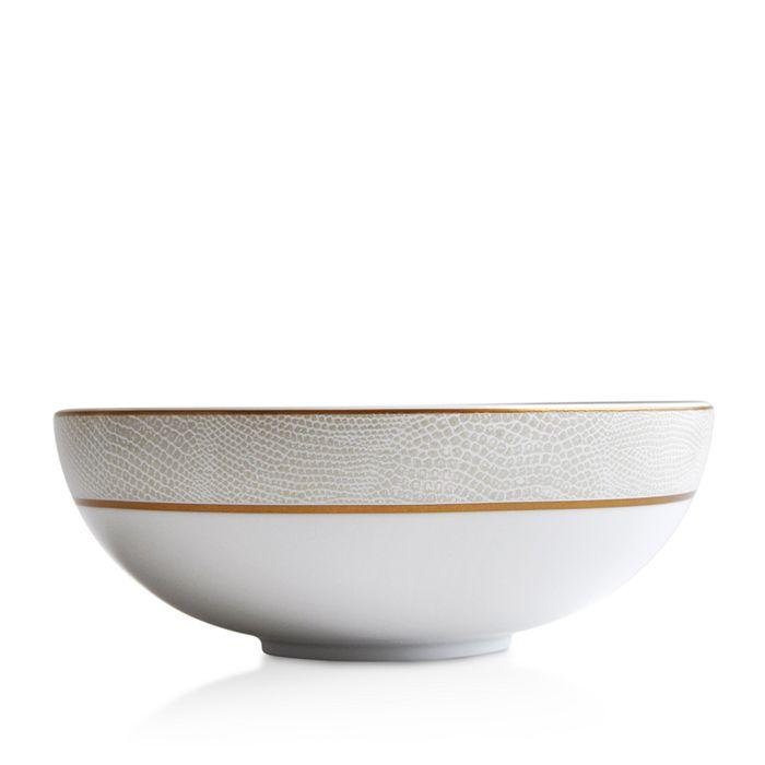 Bernardaud - Sauvage White Salad Bowl