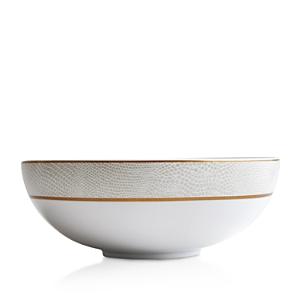 Bernardaud Sauvage White Salad Bowl