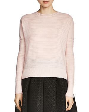 Maje Midy Tonal Stripe Sweater