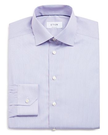 Eton - Mini Pin Stripe Regular Fit Dress Shirt