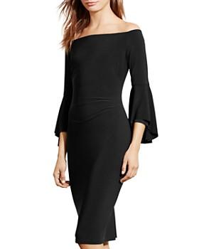 Ralph Lauren - Off-the-Shoulder Dress