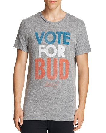 Junk Food - Vote for Bud Graphic Tee