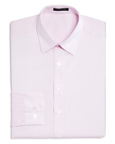 Vardama - Lafayette Solid Stain Resistant Regular Fit Dress Shirt