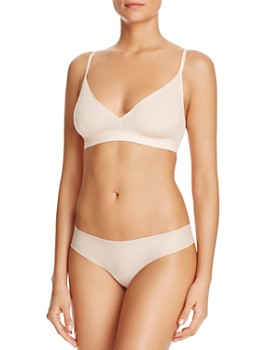 Cosabella - Aire Soft Bralette & Low-Rise Thong