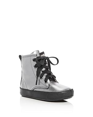 Old Soles Girls' Swag Metallic High Top Sneakers - Toddler, Little Kid